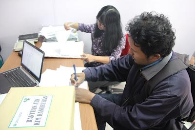 Hibah, ATK, KIM, Kanuruhan, Dinas, Kominfo, Kota Malang, Peningkatan, Kinerja
