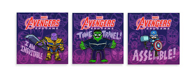 Avengers Endgame Soft Enamel Pins by Dan Hipp x Mondo