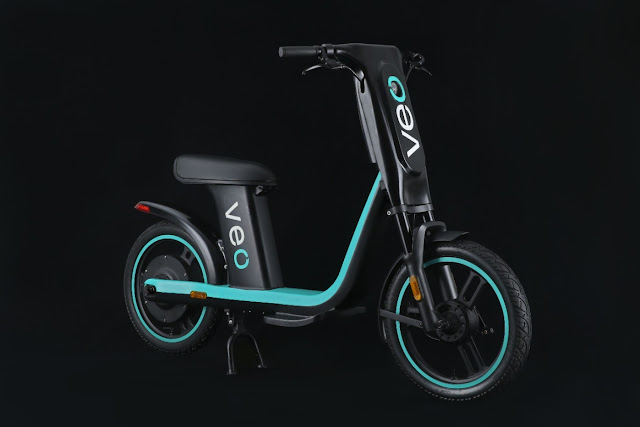 Micromobility Innovation Leader VeoRide Unveils Futuristic Veo Brand