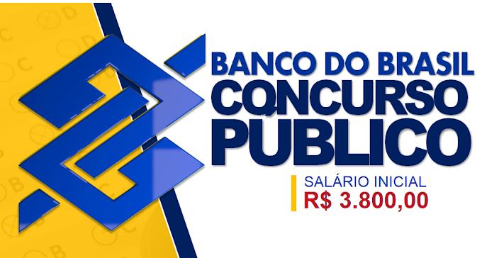 Banco do Brasil tem Edital de Concurso confirmado para 2020. Salário de R$ 3,8 mil