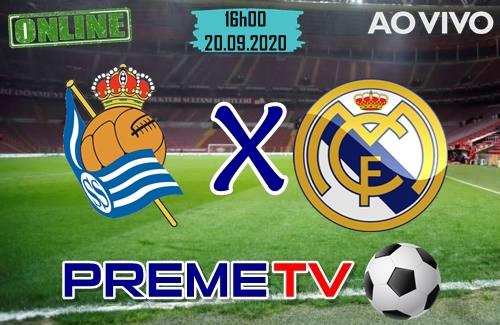 Real Sociedad x Real Madrid Ao Vivo