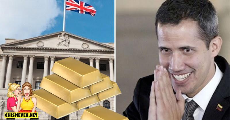 Gobierno de Guaidó será el dueño del oro en Inglaterra valorado en 120.000 millones de dólares