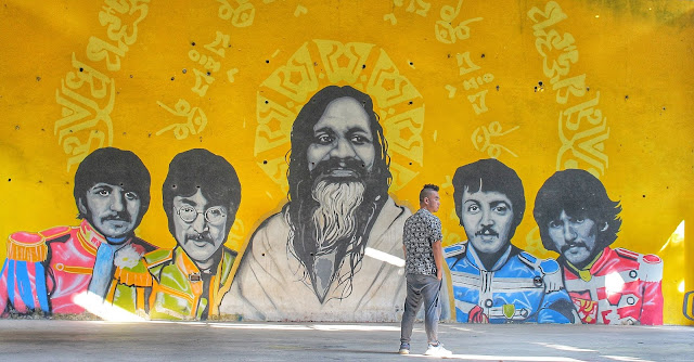 Beatles Ashram in Rishikesh India