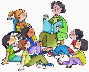 kartun belajar bersama