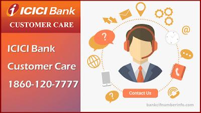 Check ICIC Bank Balance using Customer care