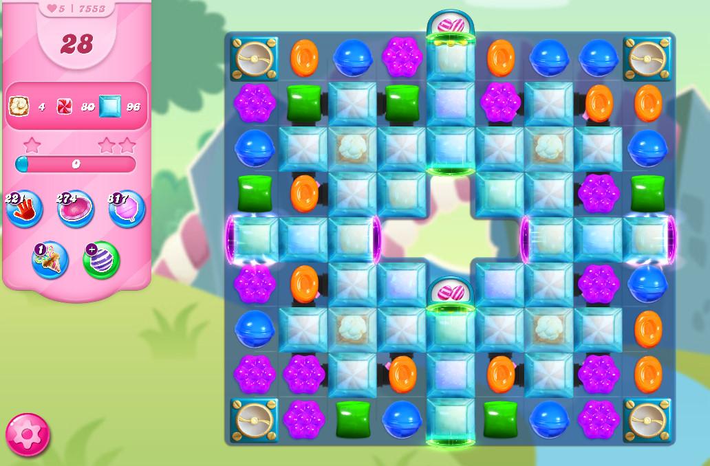 Candy Crush Saga level 7553