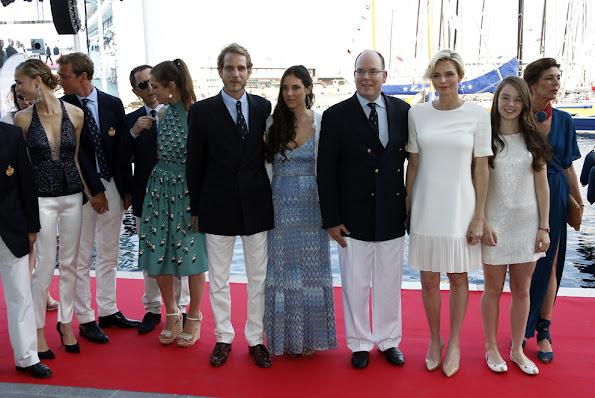 Princess Charlene, Princess Caroline, Princess Stephanie, Beatrice Borromeo, Charlotte Casiraghi, Princess Alexandra, Tatiana Santo Domingo, Pauline Ducruet