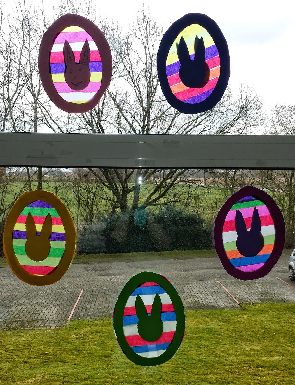 Klasse(n)Ideen: Oster-Fensterbilder