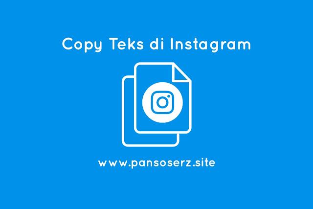 Cara Copy Teks Tertentu Di Instagram