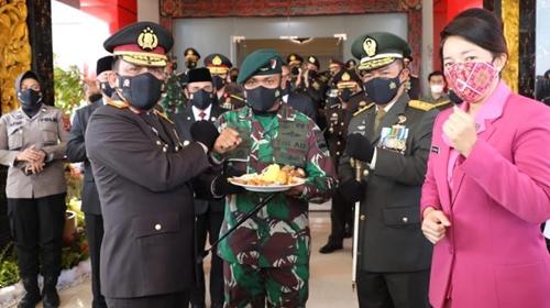Dirgahayu Kepolisian Republik Indonesia Yang Ke-75, Ini Harapan Pangdam I/BB