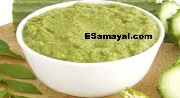 பீர்க்கங்காய் சட்னி ரெசிபி | Gourd Chutney Recipe !