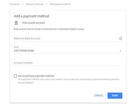 google adsense payment