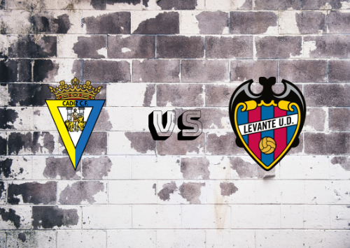 Cádiz vs UD Levante   Resumen