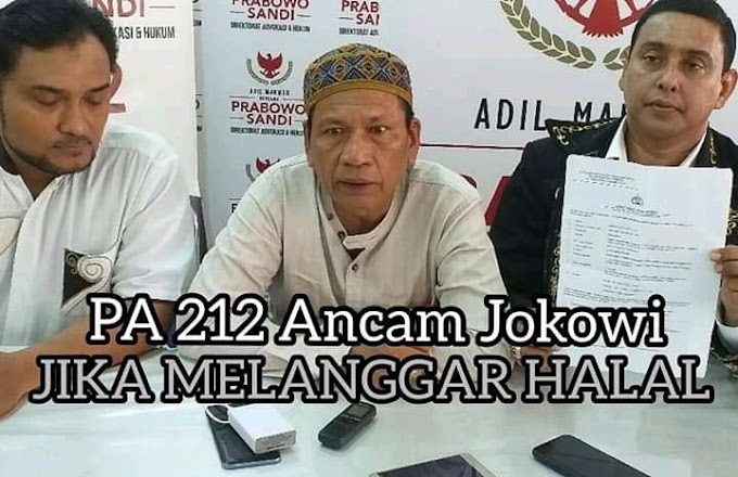 Ancam Mujahid 212 Ancam Jokowi