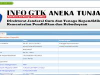 Cek Aneka Tunjangan Guru Tahun 2017 di Laman Info GTK