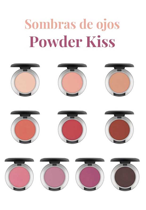 Sombras de ojos Powder Kiss