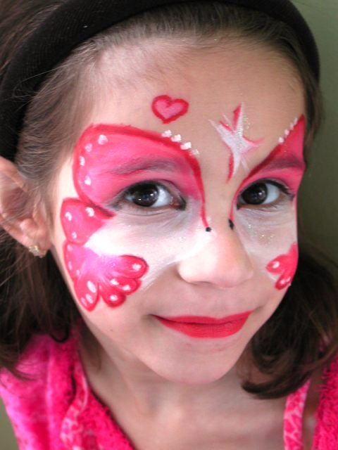 Easy Face Painting Pictures
