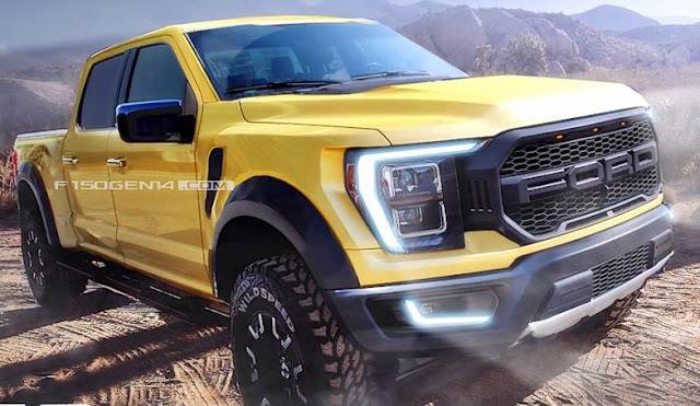 Future 2022 Ford Raptor V8