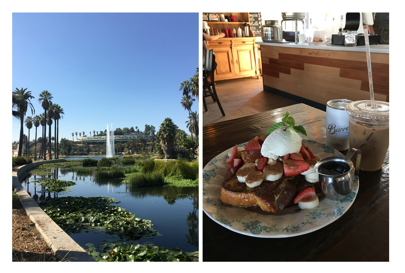 Echo Park and Food LA