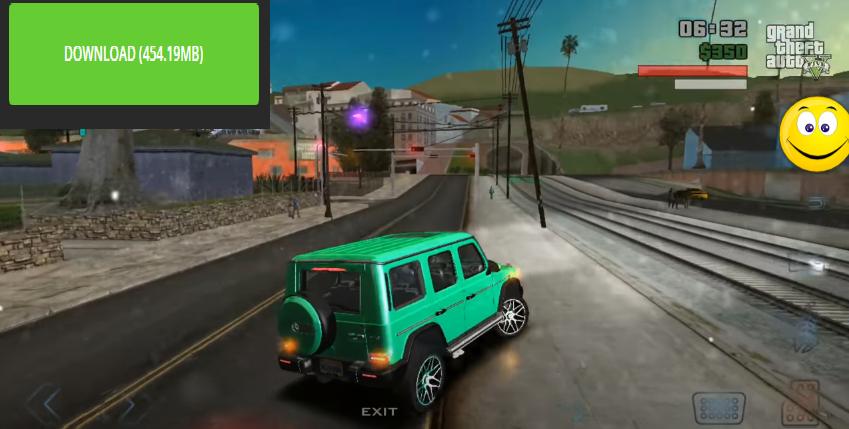 لعبة GTA بالمهمات بسيارات جديدة بجرافيك QHD+ اخيرا بحجم 450Mb ميديا فاير