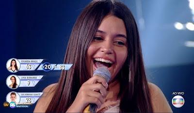 Eduarda Brasil vence The Voice Kids 2018