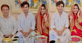 Sadaf Kanwal and Shahroz Sabzwari got Married in Close Ceremony