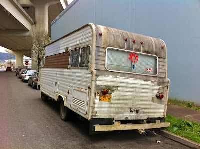 Old Parked Cars 1974 Champion Rv By Dodge