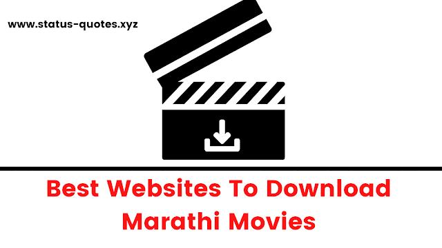 Best Websites To Download Marathi Movies【2021】