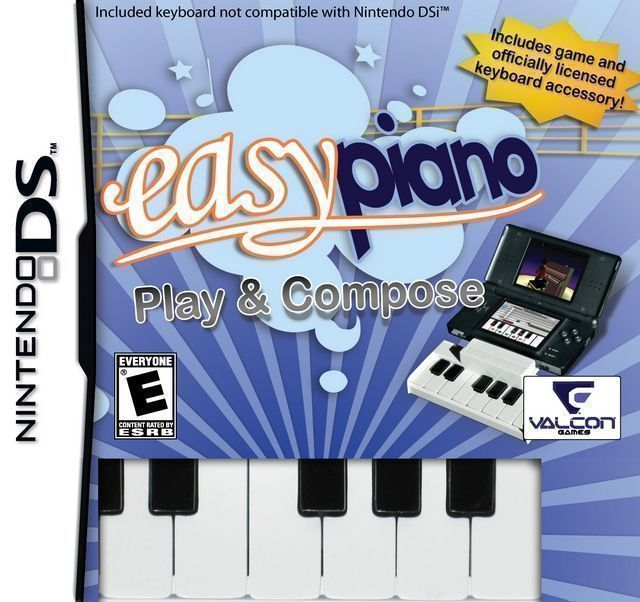 ROMs - Easy Piano - Play and Compose - NDS - Download