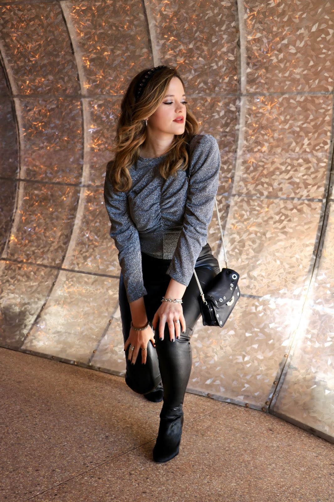 Nyc fashion blogger Kathleen Harper's New Year's Eve outfit idea.