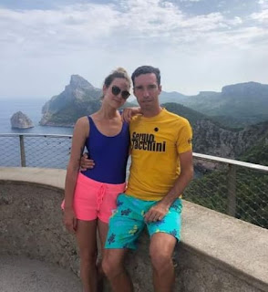 Mikhail And His Girlfriend Anastasia In Wonderful Vacation In Mallorca