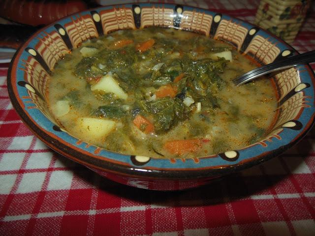Супа от коприва и киселец