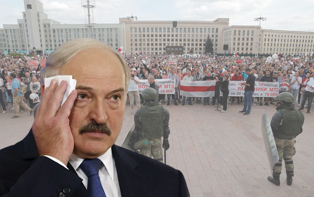 Режим А. Лукашенко рушится, процесс передачи власти запущен