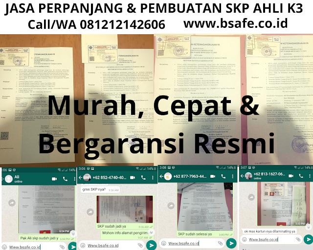 Jasa Perpanjang SKP Ahli K3, Perpanjang SKP Ahli K3, SKP Ahli K3