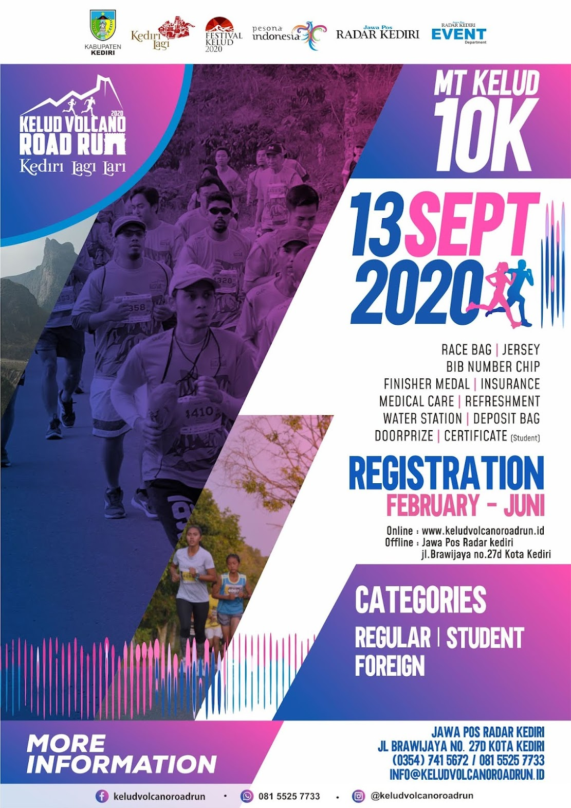 Kelud Volcano Road Run • 2020