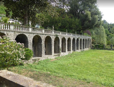 porticato Villa Dosi