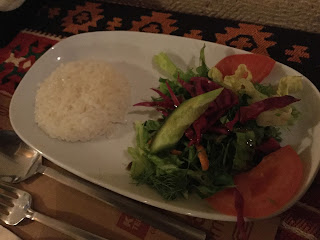 Kale Terrasse Göreme rice salad