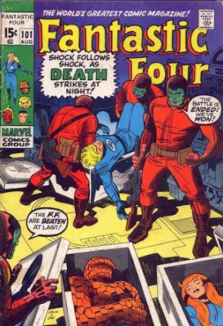 Fantastic Four #101, the Maggia