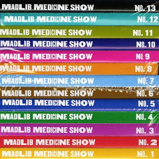 Madlib - Medecine Show No. 1-13 (2010-2012) Flac