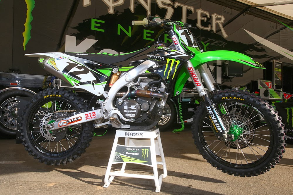Racing Cafè: Kawasaki KX-450F Team Monster Energy Kawasaki ...
