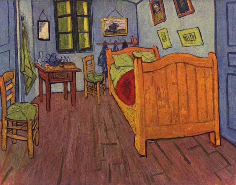 Un d a una obra van gogh el dormitorio - Camas de obra ...