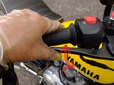 Yamaha YBR 125 Brake caliper removal , change / inspect brake pads , fluid top up / check.
