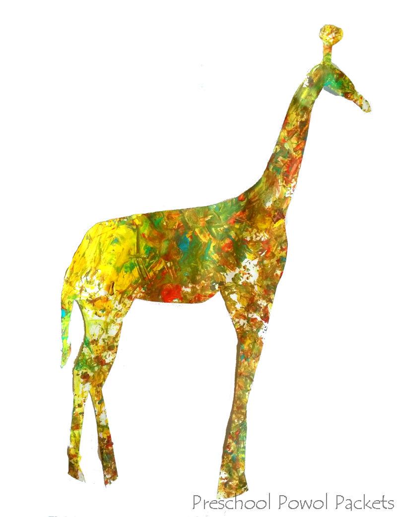 Giraffe off Woman jerk
