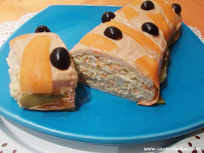 brazo de gitano saldo con pan de molde