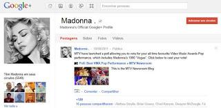 Celebridades aderem ao Google+