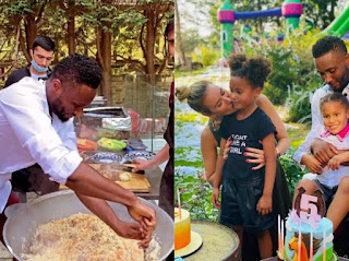Checkout Photos From John Mikel Obi's Twin Daughters' 5th Birthday Party