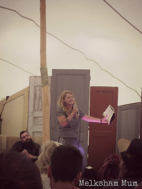 Kate Tempest at Camp Bestival 2013