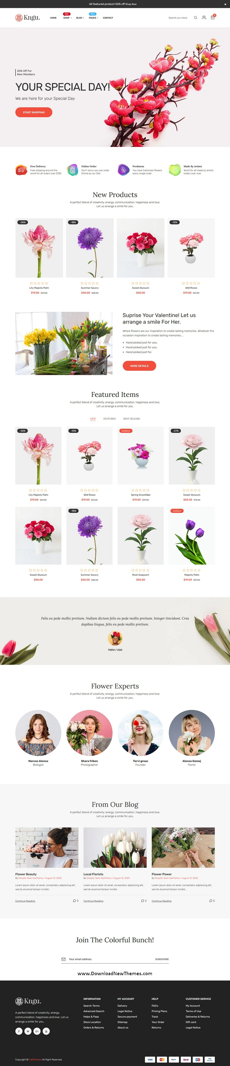 Flower Shopify Theme