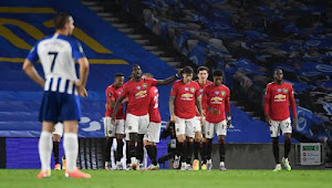 Prediksi Skor Brighton vs Manchester United 26 September 2020