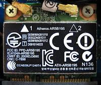 593127-001 Part Description : B/G/N WLAN card - Half MiniCard (HMC) combo Malbec